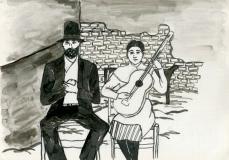 Romani Gypsy Couple